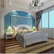 地中海风格窗帘装修背景墙图