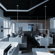 办公室装修造型图