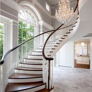 北欧风格楼梯装修整体图