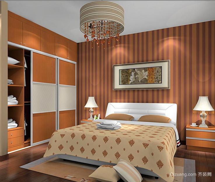 2015颇具小资的现代欧式小卧室装修效果图