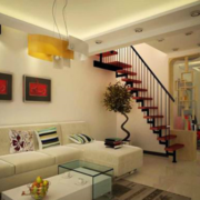 楼梯设计装修扶手图