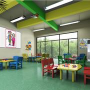 幼儿园装修设计飘窗图