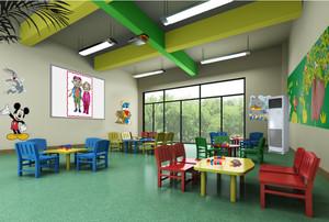 充满童趣的幼儿园装修设计效果图