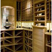 地中海风格酒柜装修造型图