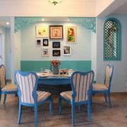餐厅背景墙装修色调搭配