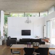 现代简约客厅电视背景墙装修精美图