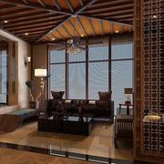 别墅客厅吊顶装修唯美图