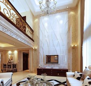 高大上客厅电视背景墙装修效果图