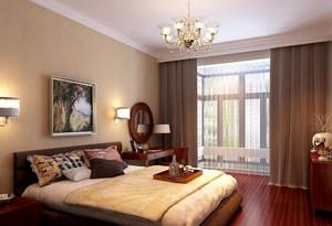 地球人都喜欢的中式风格卧室背景墙装修图片鉴赏