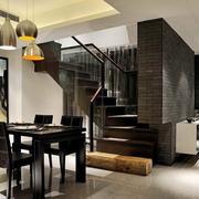 室内楼梯设计整体图