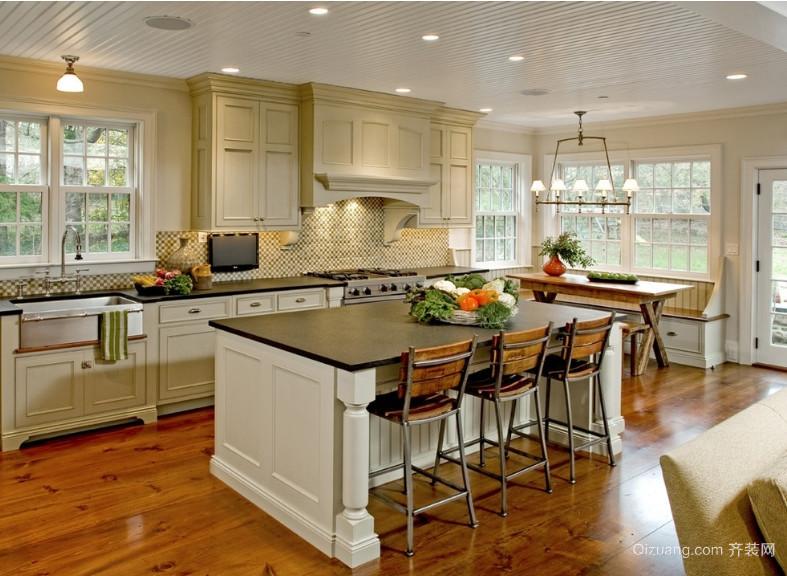 三室一厅东南亚风格厨房装修效果图