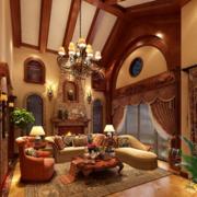 客厅吊顶装修设计造型图