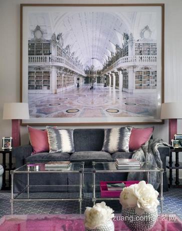 法式浪漫室内家居装饰画装修效果图