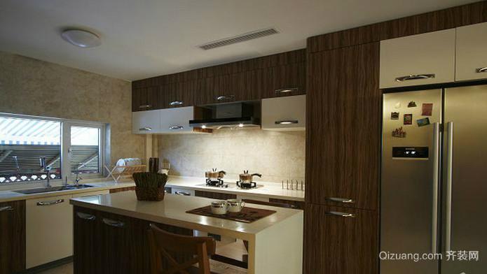 中式别墅厨房装修效果图