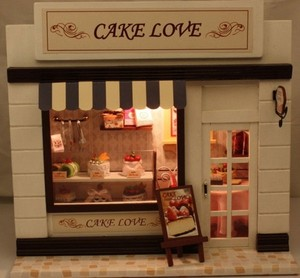 蛋糕店设计装修外景图