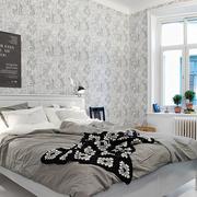 卧室壁纸装修飘窗图