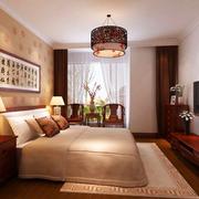 中式风格窗帘装修实例