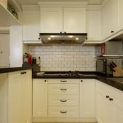 厨房装修造型图