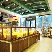 蛋糕店设计装修灯光设计