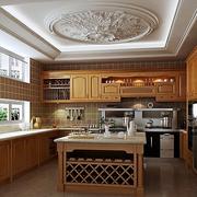 中式风格厨房装修整体图