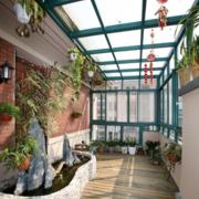 别墅庭院设计装修吊顶图