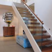 楼梯设计装修背景墙图