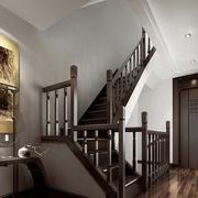 中式风格楼梯设计实景图