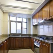 中式风格厨房装修吊顶图