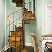 美式乡村风格楼梯装修实例