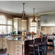 欧式风格厨房装修整体图