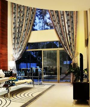 2015法式别墅装修窗帘设计效果图鉴赏