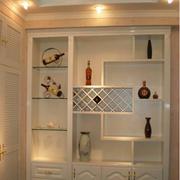 欧式风格酒柜装修造型图