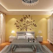 卧室背景墙装修图案设计