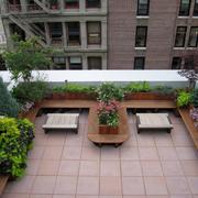 露台花园装修设计图