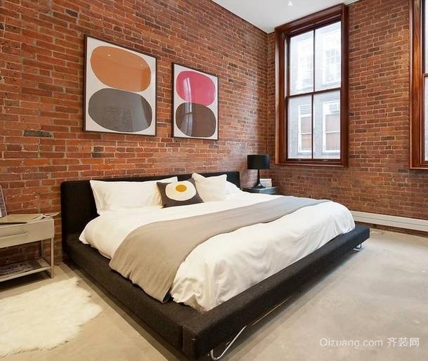 2015复式楼主卧室榻榻米床装修效果图