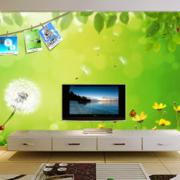 客厅电视背景墙装修图案