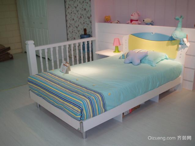 2015轻松愉悦的儿童卧室儿童床装修效果图