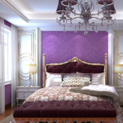 婚房装饰卧室装修吊顶图