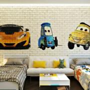 儿童房卧室装修壁纸图