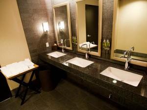 奢侈酒店小卫生间装修效果图