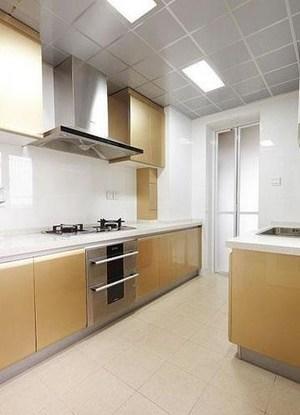 各种类型现代厨房铝扣吊顶装修效果图