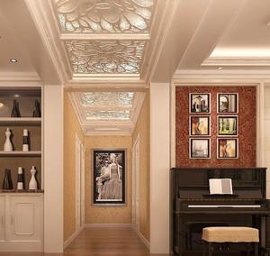 自建别墅创意型精致美观走廊吊顶装修效果图