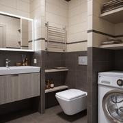 卫生间设计装修地板图