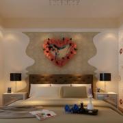 婚房装饰卧室装修背景墙图