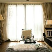 别墅窗帘装修整体图