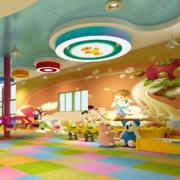 儿童游乐园背景墙图