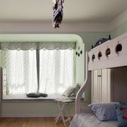 儿童卧室装修飘窗图