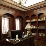 北欧风格书房装修整体图