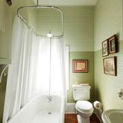 卫生间隔断装修浴室图