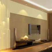 硅藻泥背景墙装修灯光设计